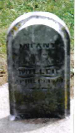 MILLER, INFANT - Preble County, Ohio   INFANT MILLER - Ohio Gravestone Photos