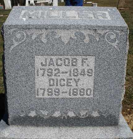 MILLER, JACOB F. - Preble County, Ohio | JACOB F. MILLER - Ohio Gravestone Photos