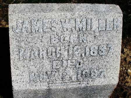 MILLER, JAMES W. - Preble County, Ohio   JAMES W. MILLER - Ohio Gravestone Photos