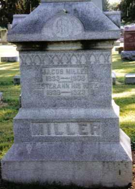 MILLER, ESTERANN - Preble County, Ohio | ESTERANN MILLER - Ohio Gravestone Photos