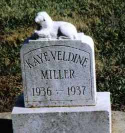 MILLER, KAYE VELDINE - Preble County, Ohio   KAYE VELDINE MILLER - Ohio Gravestone Photos