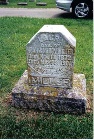 MILLER, LAURA - Preble County, Ohio   LAURA MILLER - Ohio Gravestone Photos
