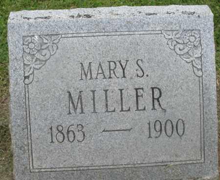 MILLER, MARY S. - Preble County, Ohio   MARY S. MILLER - Ohio Gravestone Photos