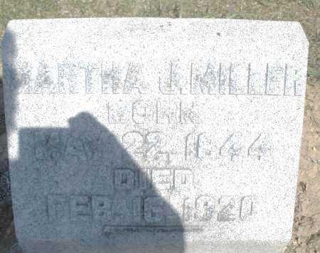 MILLER, MARTHA J. - Preble County, Ohio   MARTHA J. MILLER - Ohio Gravestone Photos