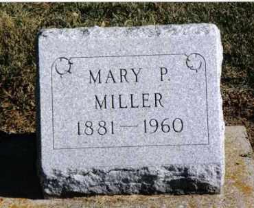 MILLER, MARY P. - Preble County, Ohio   MARY P. MILLER - Ohio Gravestone Photos