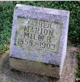 MILLER, MARION - Preble County, Ohio   MARION MILLER - Ohio Gravestone Photos