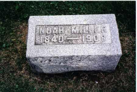 MILLER, NOAH - Preble County, Ohio | NOAH MILLER - Ohio Gravestone Photos