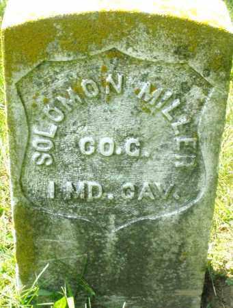 MILLER, SOLOMON - Preble County, Ohio   SOLOMON MILLER - Ohio Gravestone Photos