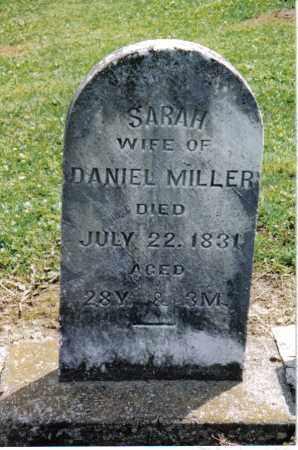 MILLER, SARAH - Preble County, Ohio | SARAH MILLER - Ohio Gravestone Photos