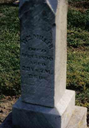 MILLER, WILLIAM - Preble County, Ohio   WILLIAM MILLER - Ohio Gravestone Photos
