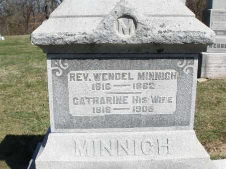 MINNICH, CATHARINE - Preble County, Ohio | CATHARINE MINNICH - Ohio Gravestone Photos