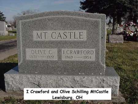 MTCASTLE, OLIVE - Preble County, Ohio | OLIVE MTCASTLE - Ohio Gravestone Photos