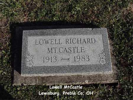 MTCASTLE, LOWELL - Preble County, Ohio   LOWELL MTCASTLE - Ohio Gravestone Photos