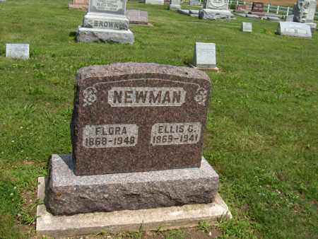 NEWMAN, FLORA - Preble County, Ohio | FLORA NEWMAN - Ohio Gravestone Photos