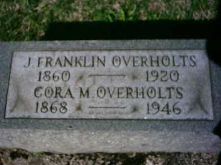 OVERHOLTS, CORA - Preble County, Ohio | CORA OVERHOLTS - Ohio Gravestone Photos
