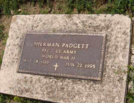 PADGETT, SHERMAN - Preble County, Ohio   SHERMAN PADGETT - Ohio Gravestone Photos