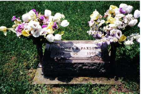 PAXSON, DORTHA M. - Preble County, Ohio | DORTHA M. PAXSON - Ohio Gravestone Photos