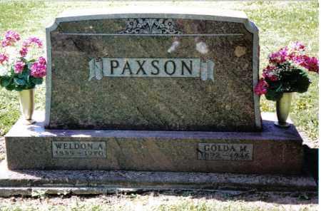 PAXSON, GOLDA M. - Preble County, Ohio   GOLDA M. PAXSON - Ohio Gravestone Photos