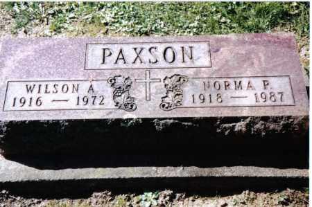 PAXSON, NORMA P. - Preble County, Ohio | NORMA P. PAXSON - Ohio Gravestone Photos
