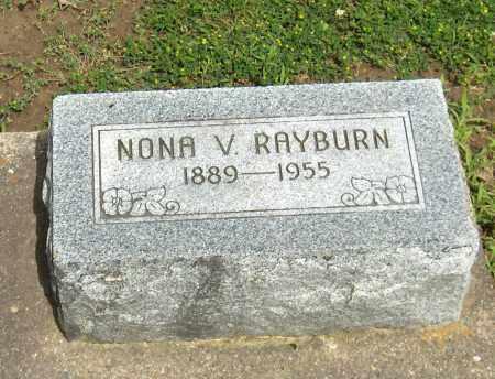 RAYBURN, NONA VELDA - Preble County, Ohio | NONA VELDA RAYBURN - Ohio Gravestone Photos
