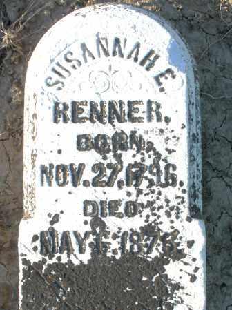RENNER, SUSANNAH E. - Preble County, Ohio | SUSANNAH E. RENNER - Ohio Gravestone Photos
