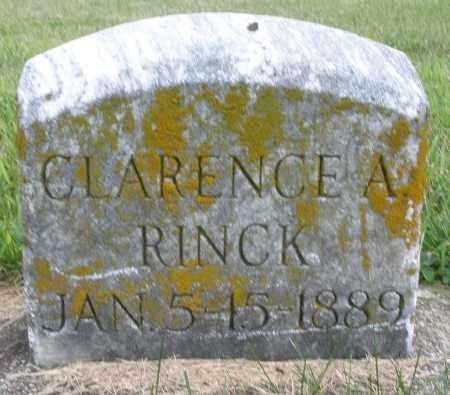 RINCK, CLARENCE A. - Preble County, Ohio | CLARENCE A. RINCK - Ohio Gravestone Photos