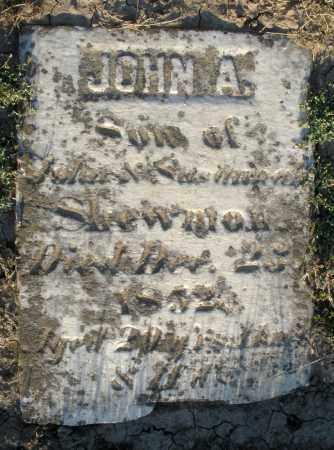 SHEWMON, JOHN A. - Preble County, Ohio | JOHN A. SHEWMON - Ohio Gravestone Photos