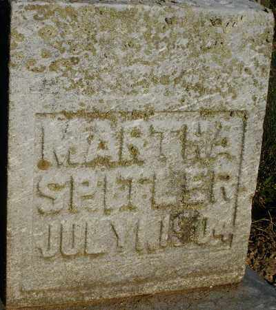 SPITLER, MARTHA - Preble County, Ohio   MARTHA SPITLER - Ohio Gravestone Photos