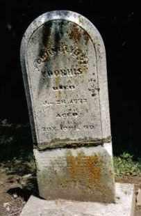 VOORHIS, CORNELIUS - Preble County, Ohio | CORNELIUS VOORHIS - Ohio Gravestone Photos