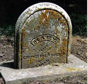 MILES VOORHIS, MARY - Preble County, Ohio   MARY MILES VOORHIS - Ohio Gravestone Photos
