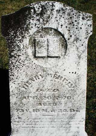 WEHRLY, HENRY - Preble County, Ohio | HENRY WEHRLY - Ohio Gravestone Photos