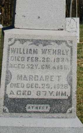WEHRLY, WILLIAM - Preble County, Ohio | WILLIAM WEHRLY - Ohio Gravestone Photos