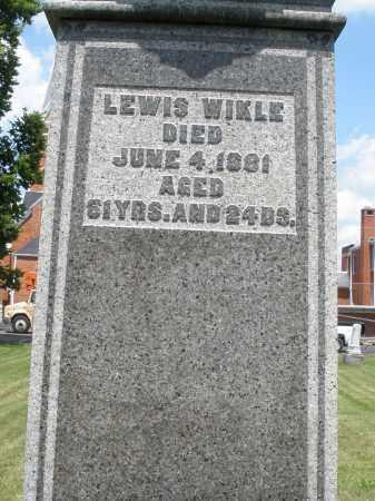 WIKLE, LEWIS - Preble County, Ohio   LEWIS WIKLE - Ohio Gravestone Photos