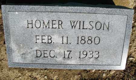 WILSON, HOMER - Preble County, Ohio | HOMER WILSON - Ohio Gravestone Photos