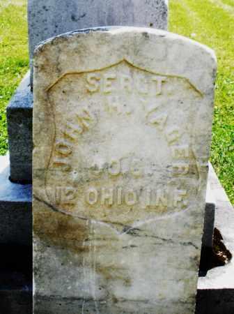 YAGER, JOHN H. - Preble County, Ohio | JOHN H. YAGER - Ohio Gravestone Photos