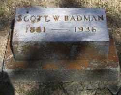 BADMAN, SCOTT W - Putnam County, Ohio | SCOTT W BADMAN - Ohio Gravestone Photos