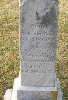 BURRI, SOHN - Putnam County, Ohio   SOHN BURRI - Ohio Gravestone Photos