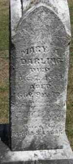DARLING, MARY - Putnam County, Ohio   MARY DARLING - Ohio Gravestone Photos