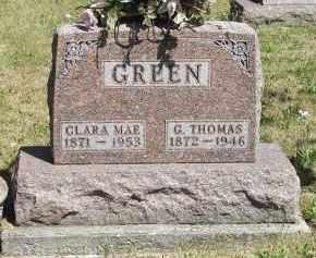 GREEN, CLARA MAE - Putnam County, Ohio | CLARA MAE GREEN - Ohio Gravestone Photos