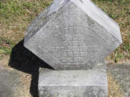 MACK, CLIFFORD - Putnam County, Ohio   CLIFFORD MACK - Ohio Gravestone Photos