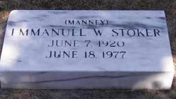 STOKER, EMMANUEL W. - Putnam County, Ohio   EMMANUEL W. STOKER - Ohio Gravestone Photos
