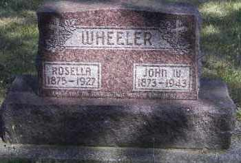 WHEELER, ROSELLA - Putnam County, Ohio   ROSELLA WHEELER - Ohio Gravestone Photos