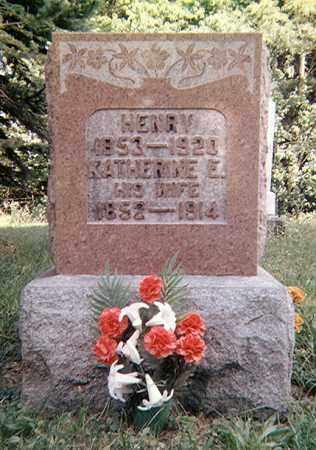BAKER, KATHERINE E. - Richland County, Ohio | KATHERINE E. BAKER - Ohio Gravestone Photos