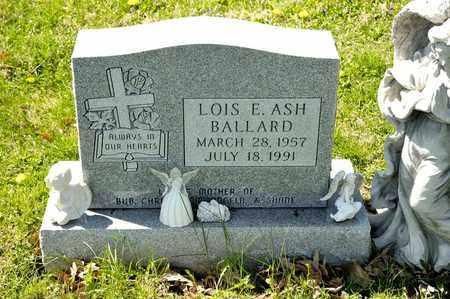 ASH BALLARD, LOIS E - Richland County, Ohio | LOIS E ASH BALLARD - Ohio Gravestone Photos