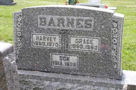 BARNES, HARVEY - Richland County, Ohio | HARVEY BARNES - Ohio Gravestone Photos