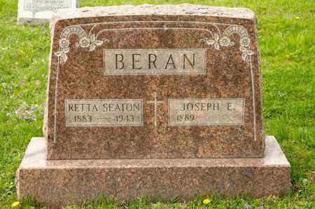 BERAN, RETTA - Richland County, Ohio | RETTA BERAN - Ohio Gravestone Photos