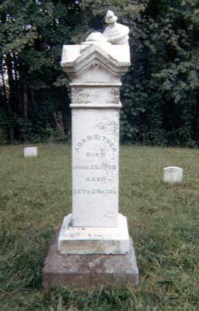 BITNER, ADAM - Richland County, Ohio   ADAM BITNER - Ohio Gravestone Photos