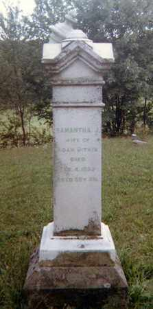 BAKER BITNER, SAMANTHA J. - Richland County, Ohio   SAMANTHA J. BAKER BITNER - Ohio Gravestone Photos