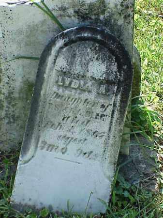 BLACK, LYDIA A. - Richland County, Ohio | LYDIA A. BLACK - Ohio Gravestone Photos