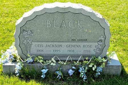 BLACK, OTIS JACKSON - Richland County, Ohio | OTIS JACKSON BLACK - Ohio Gravestone Photos